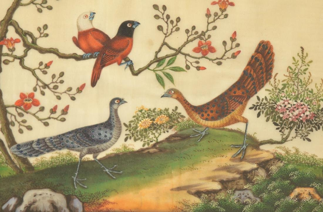 Chinese School, pith painting - 4