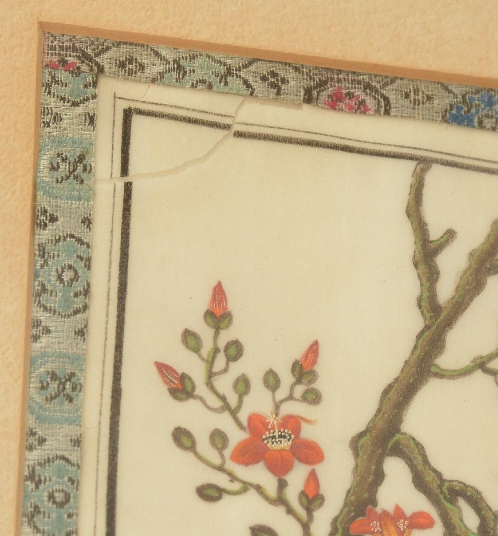 Chinese School, pith painting - 5