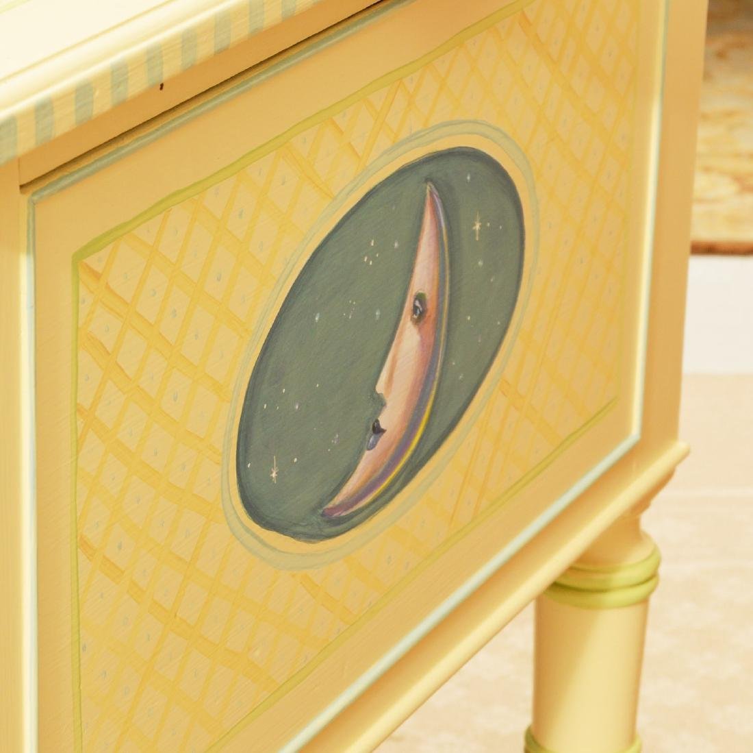 Mackenzie-Childs style whimsical painted desk - 6