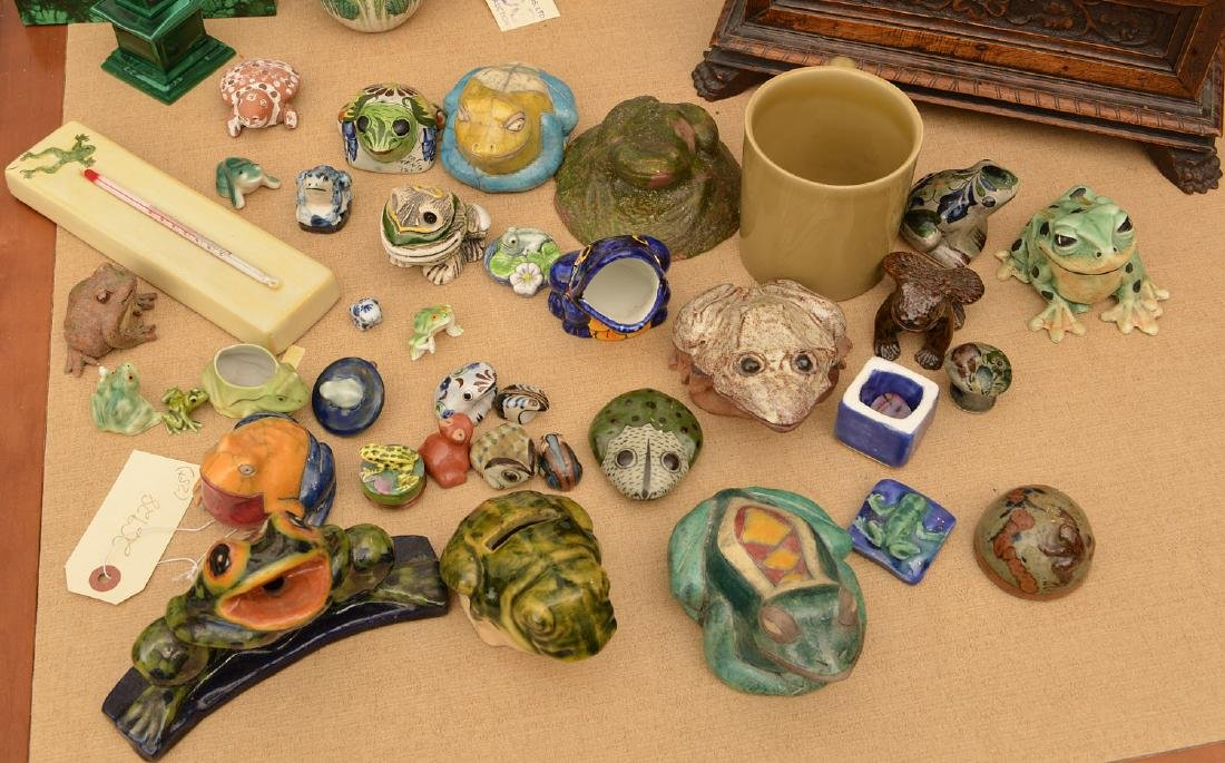 Instant collection (25+) ceramic frogs
