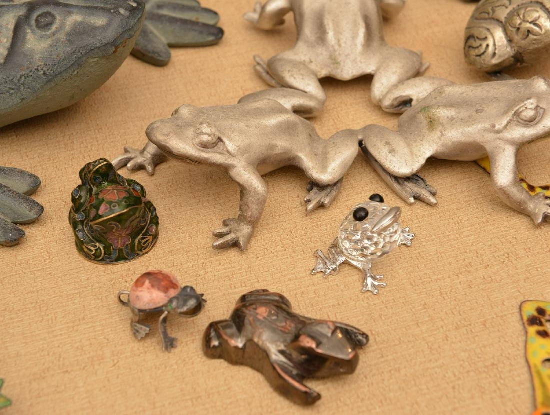 Instant collection (15+) metalware frogs - 5