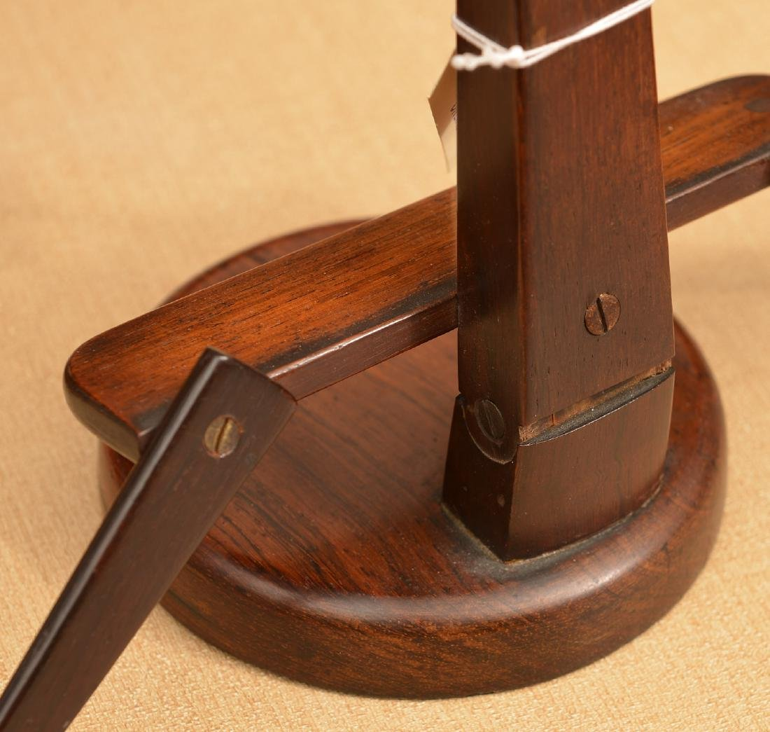 (2) antique tabletop book stands - 8
