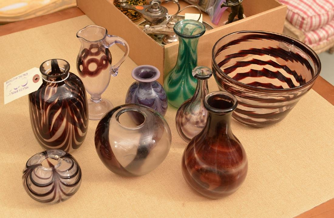 Collection Harkness hand-blown studio glass