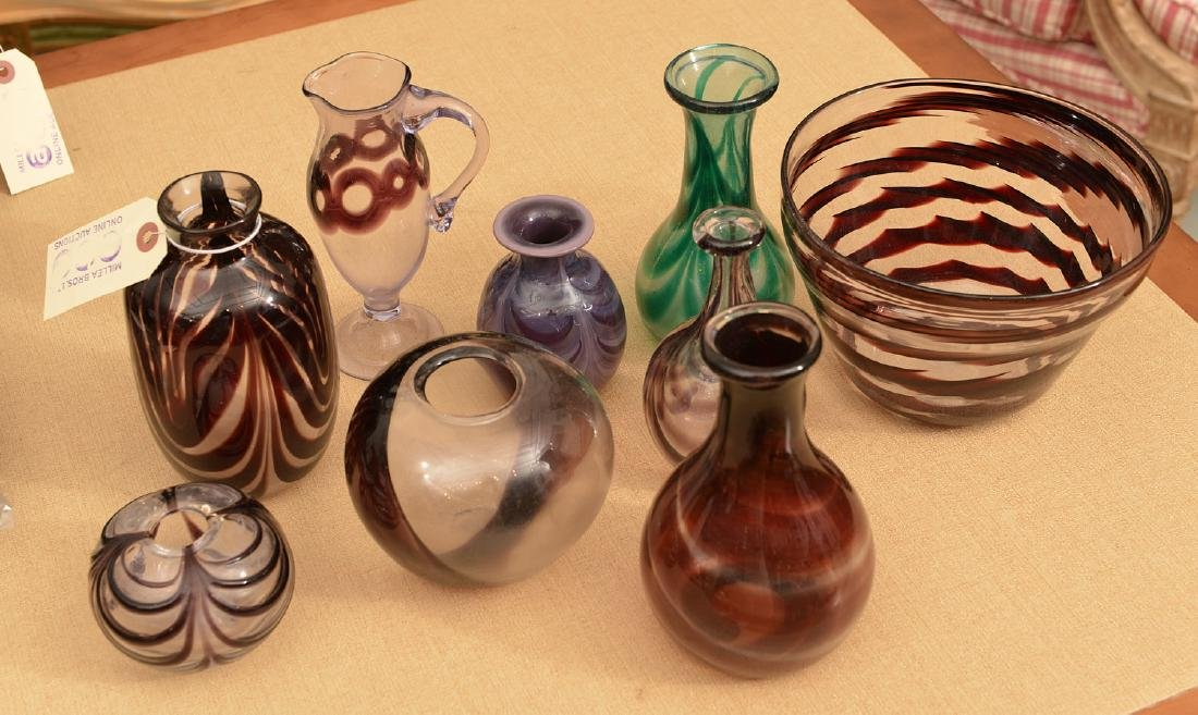 Collection Harkness hand-blown studio glass - 2