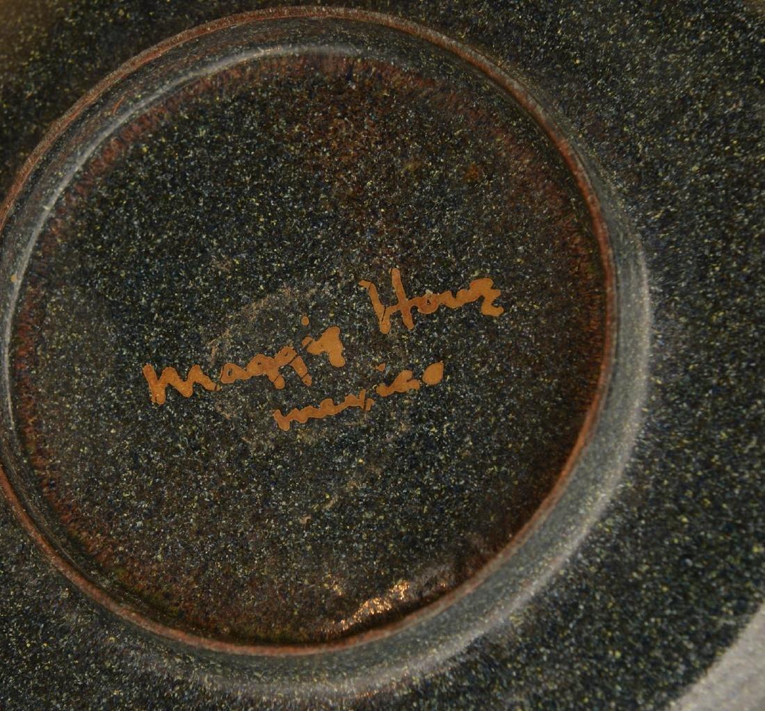 Collection signed Modernist enamelware - 8