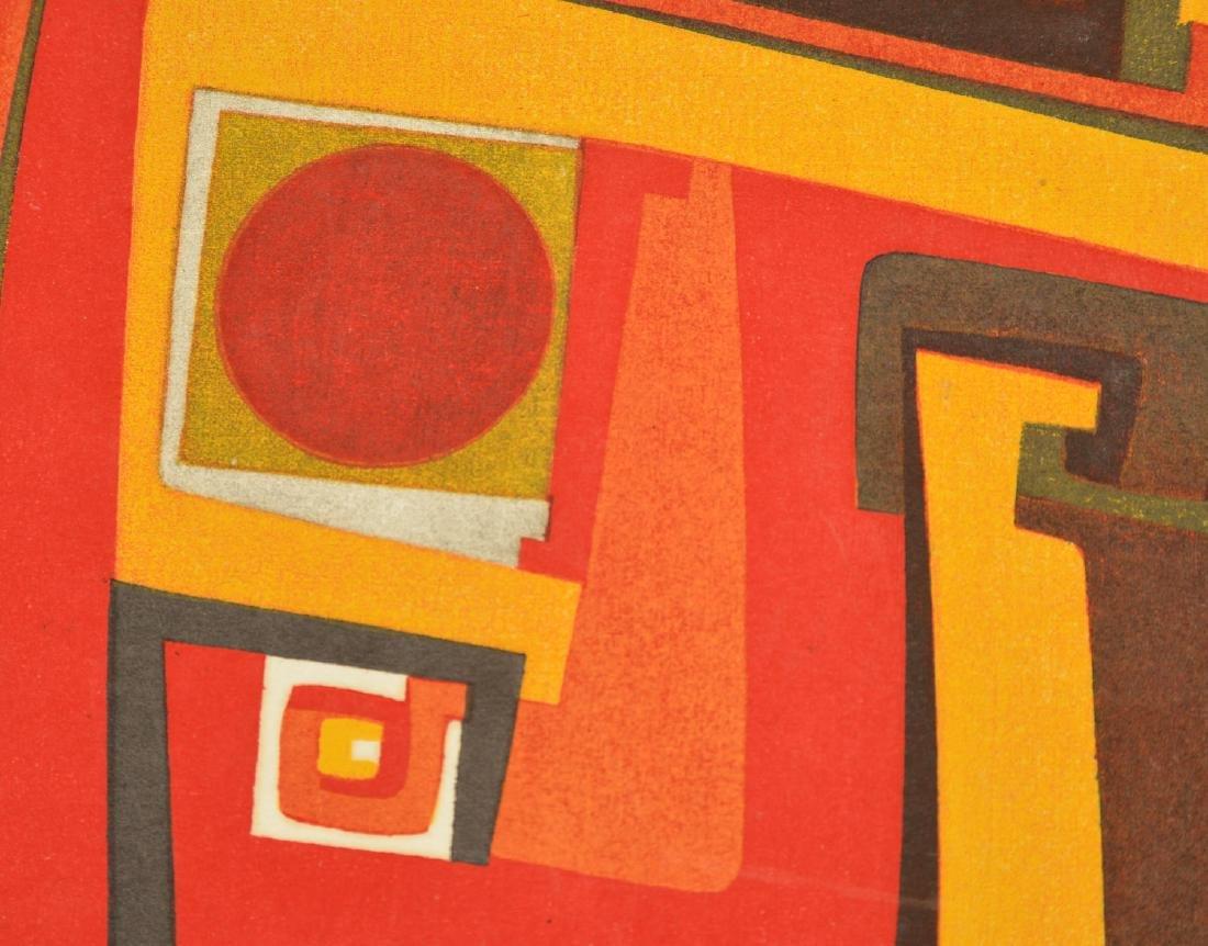 Kazumi Amano, woodblock print - 2