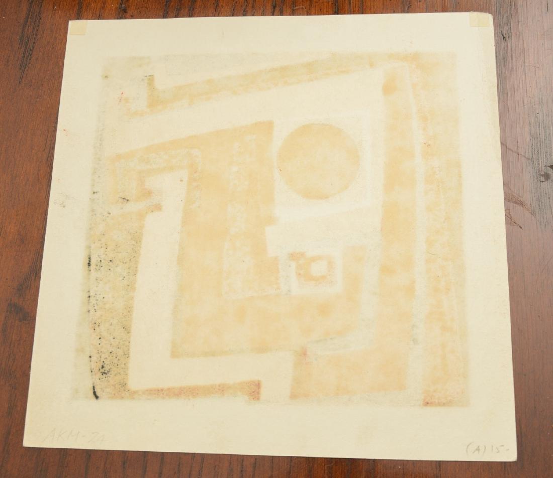 Kazumi Amano, woodblock print - 5