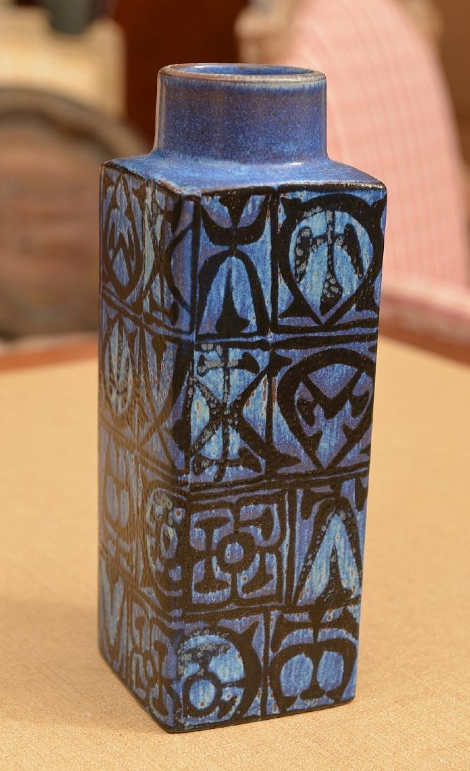 Nils Thorsson for Royal Copenhagen Aluminia vase - 2