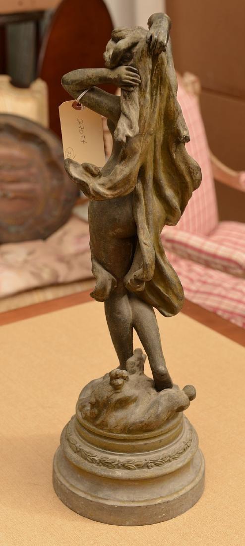 English School, spelter sculpture - 5