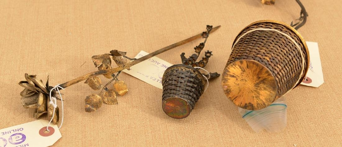 Tiffany & Co. and Mexican sterling flower models - 6