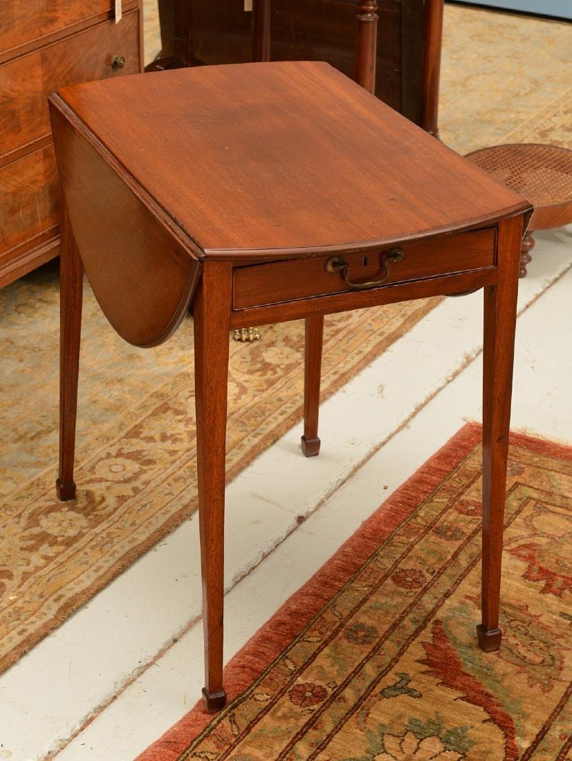 George III pembroke table - 2