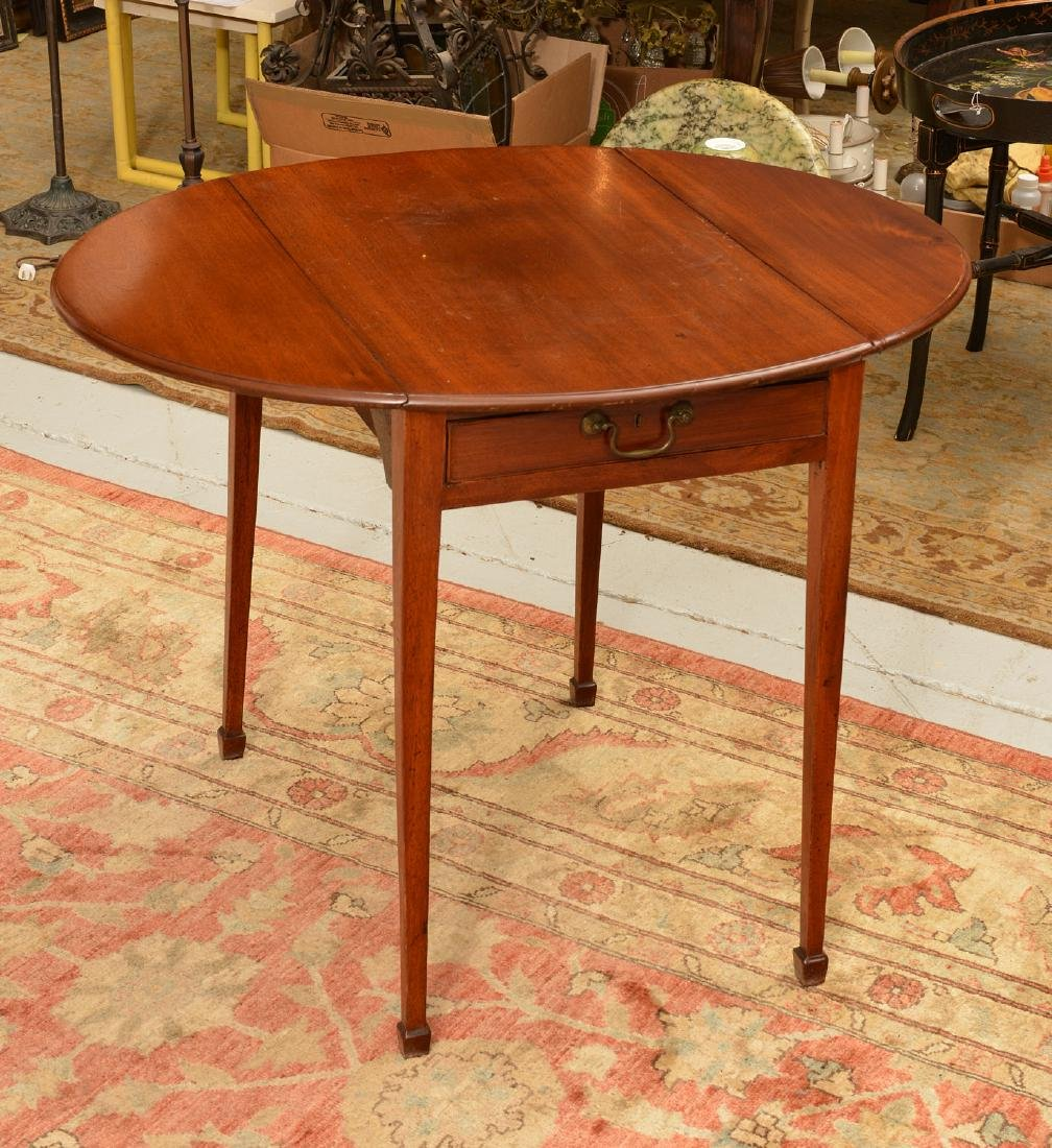 George III pembroke table - 6