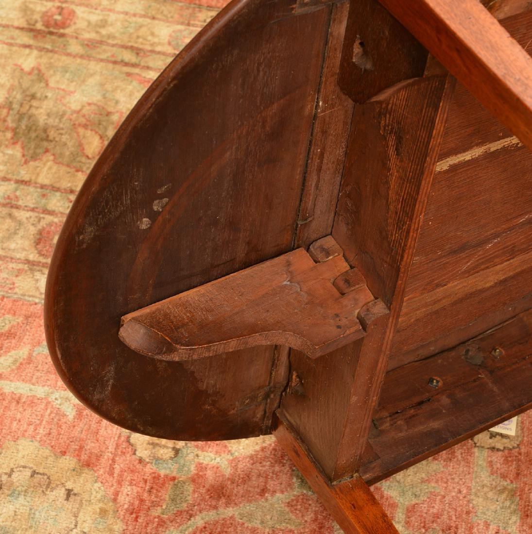 George III pembroke table - 8