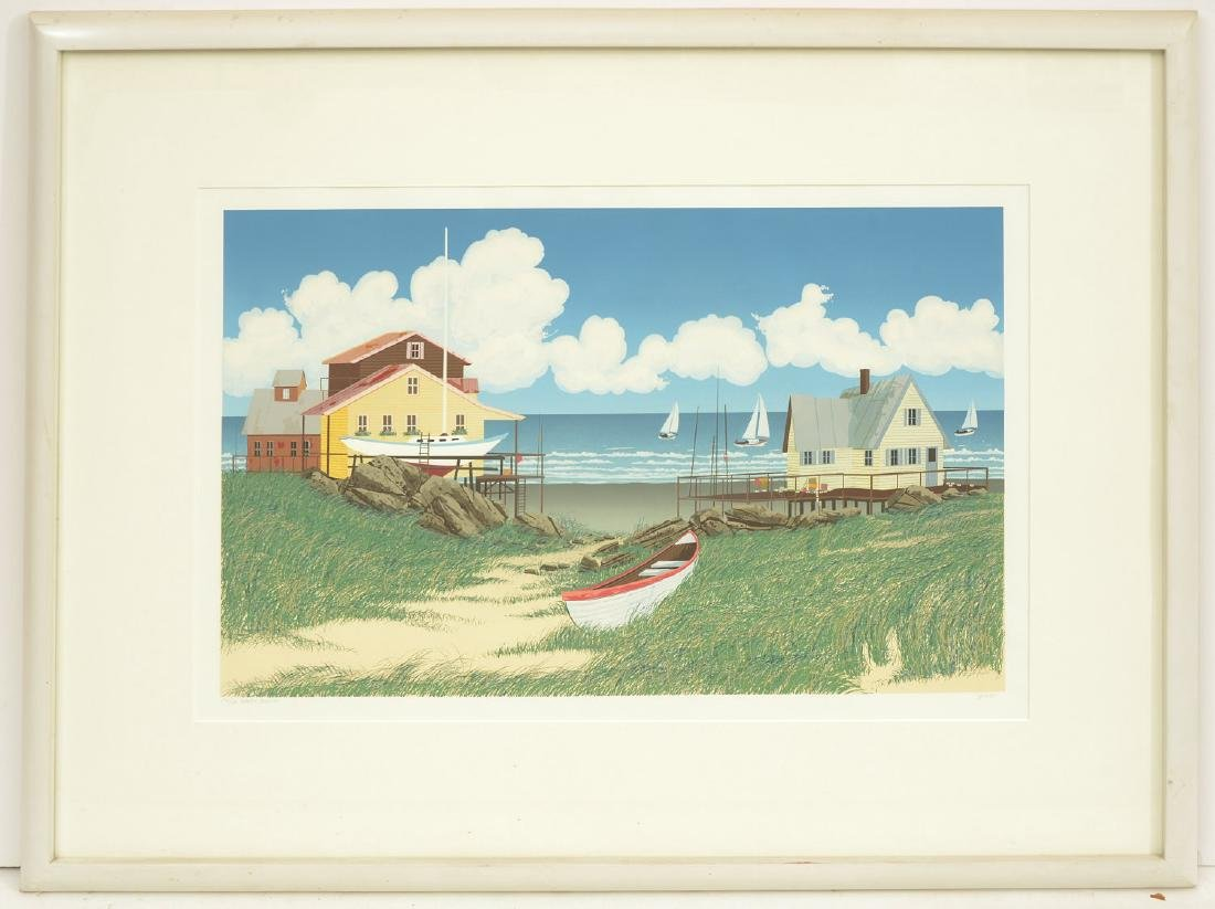 Glenn Opie, color lithograph
