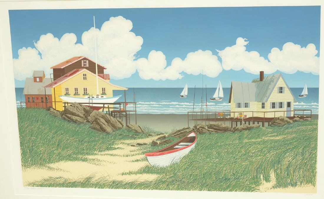 Glenn Opie, color lithograph - 2