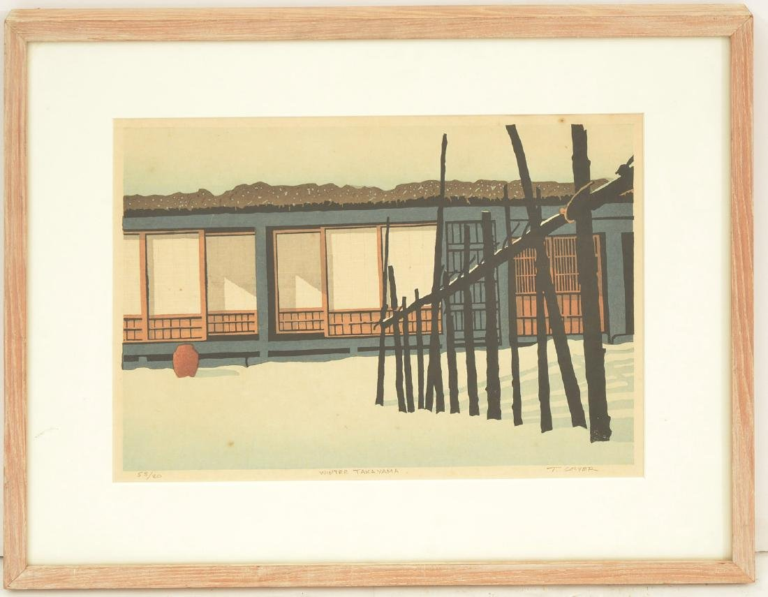 Ted Colyer, woodblock print