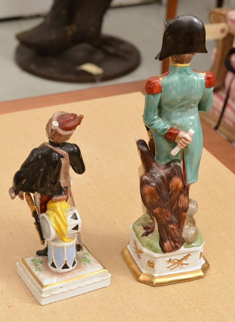 (2) Napoleonic porcelain figures - 3