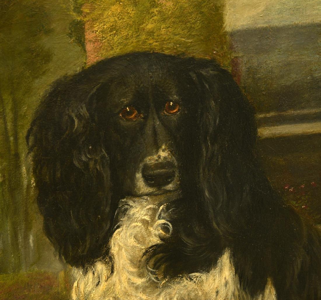 English School, dog painting - 2