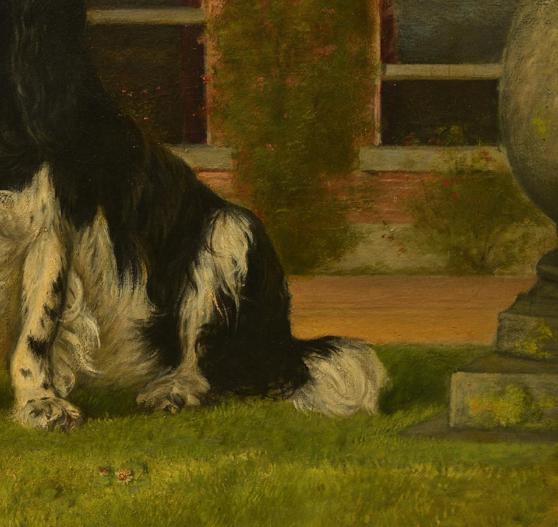 English School, dog painting - 3