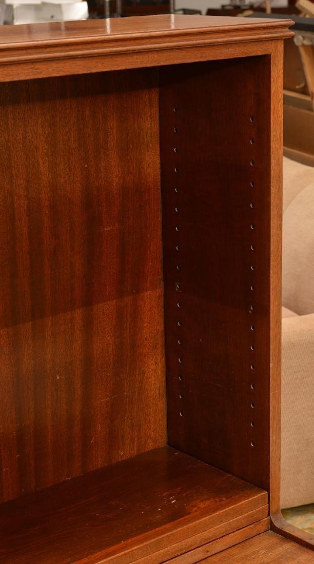 George III style mahogany bureau bookcase - 3