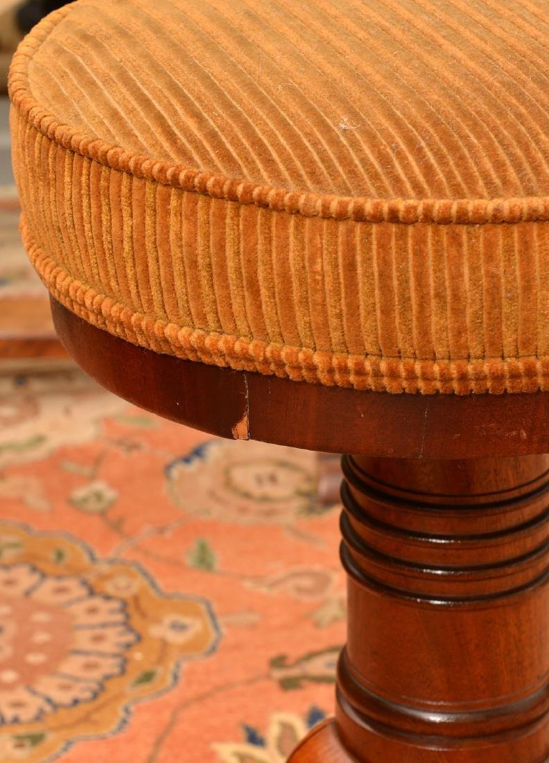 Nice Regency mahogany mahogany piano stool - 3
