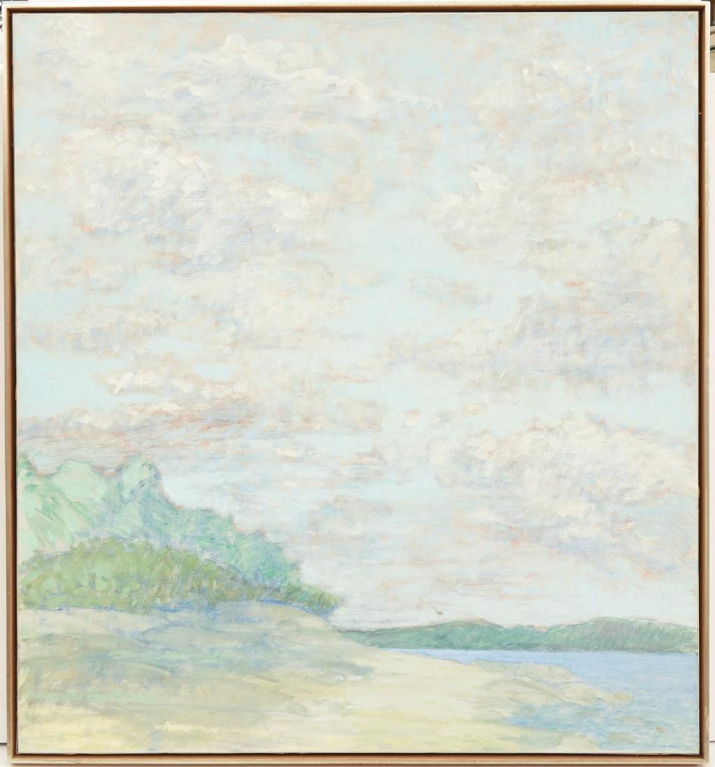 Robert Lahotan, painting