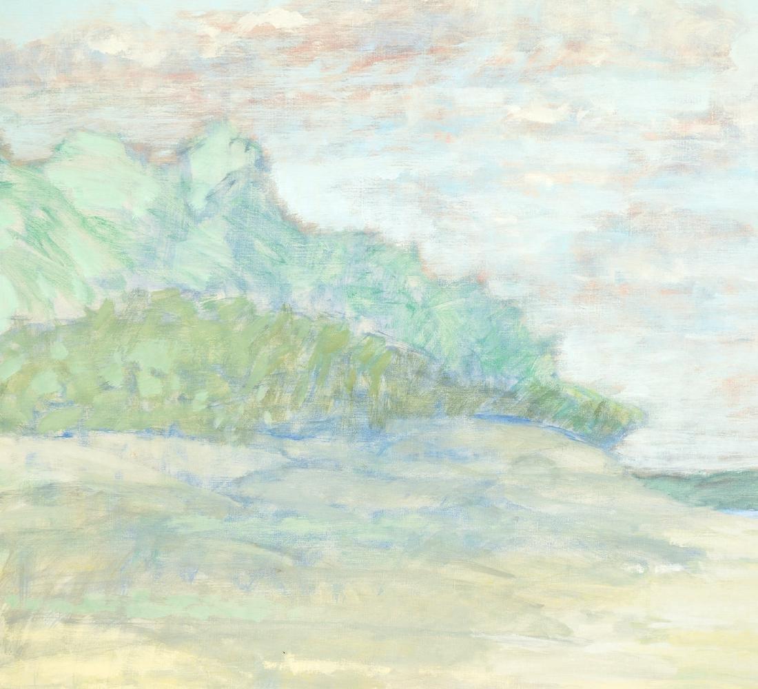 Robert Lahotan, painting - 2