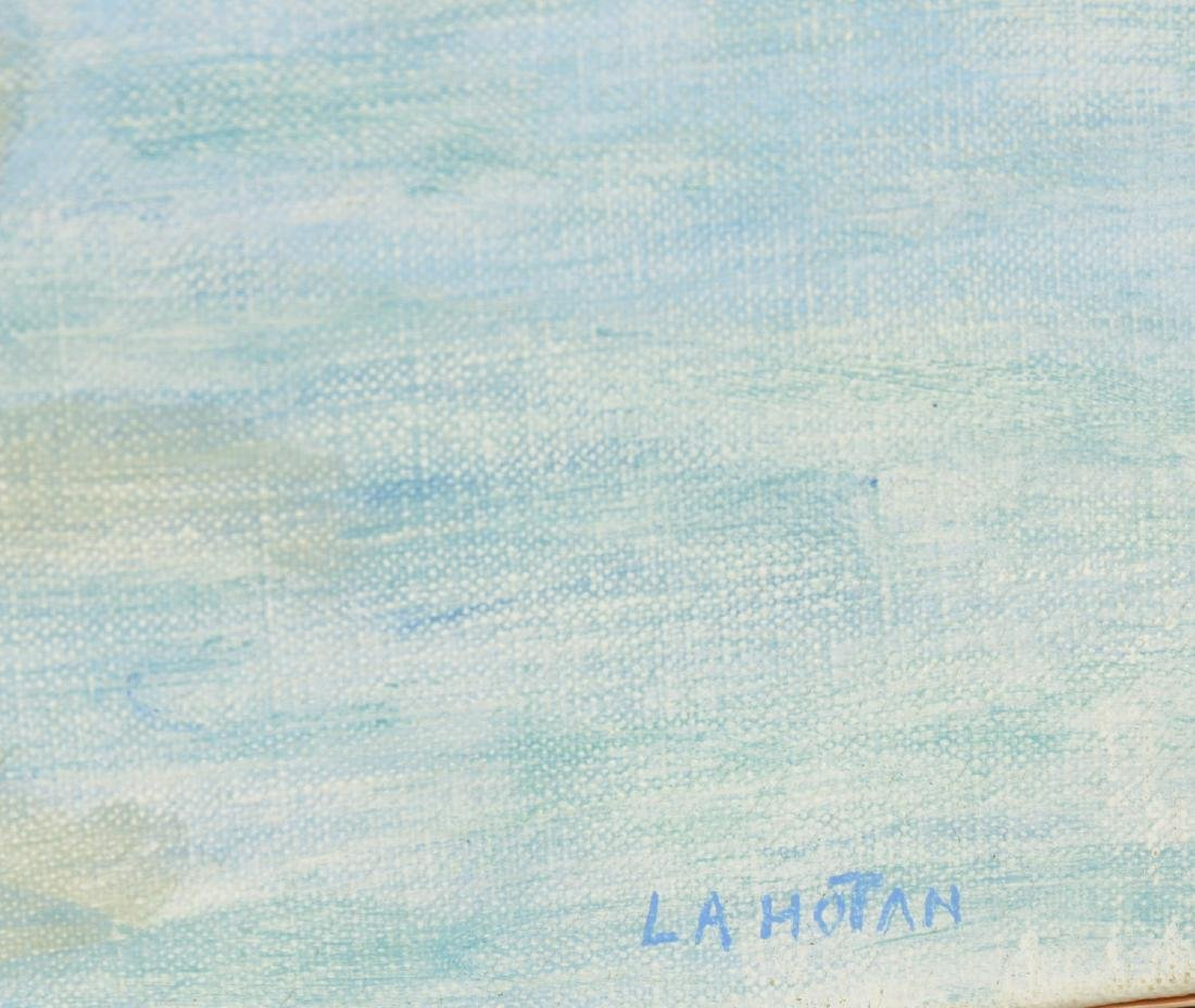 Robert Lahotan, painting - 5