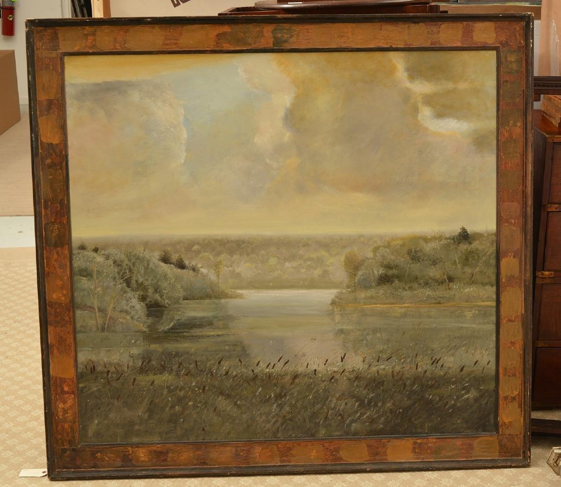 Gerald Van De Wiele, large painting