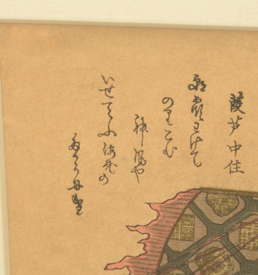 (2) Japanese woodcuts: Hiro and Hokusai - 5