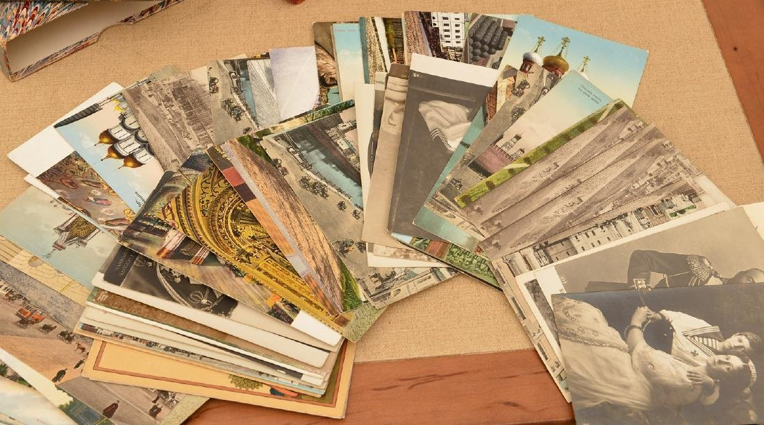 "(5) ""Postkarten"" cases: postcard collection - 2"