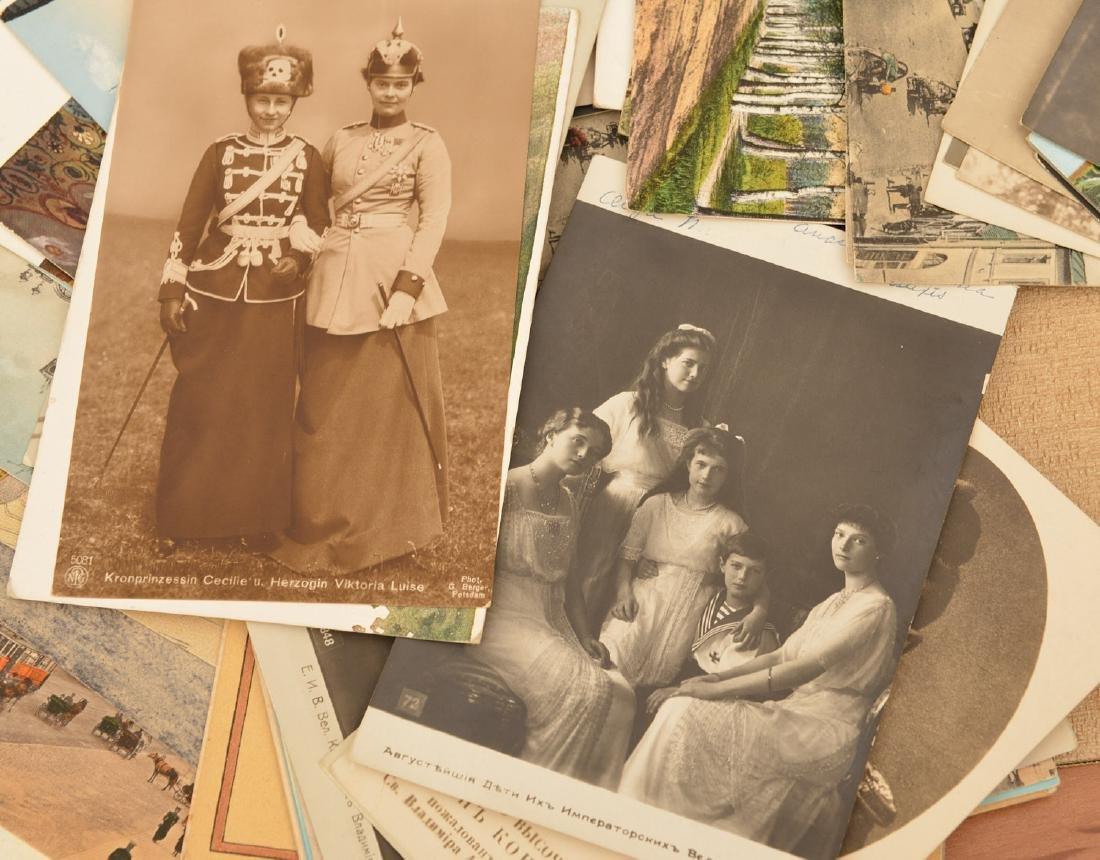 "(5) ""Postkarten"" cases: postcard collection - 4"