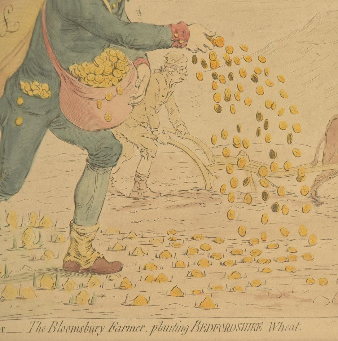 After James Gilray, political cartoon - 4