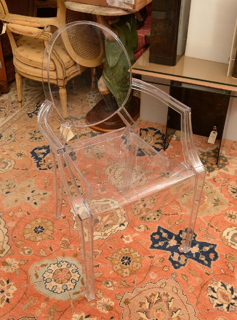 Philippe Starck for Kartell Ghost armchair