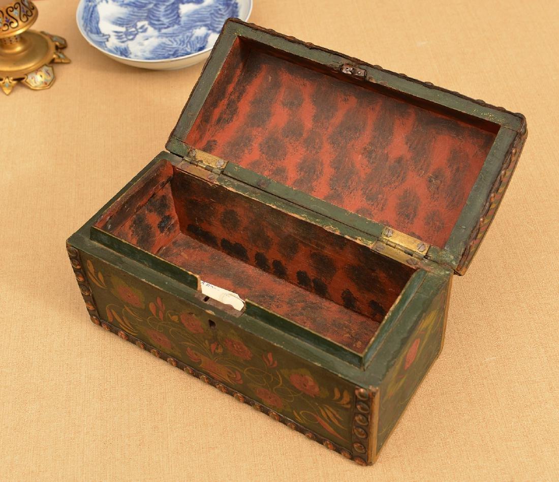 Pennsylvania Dutch style dome top box - 2