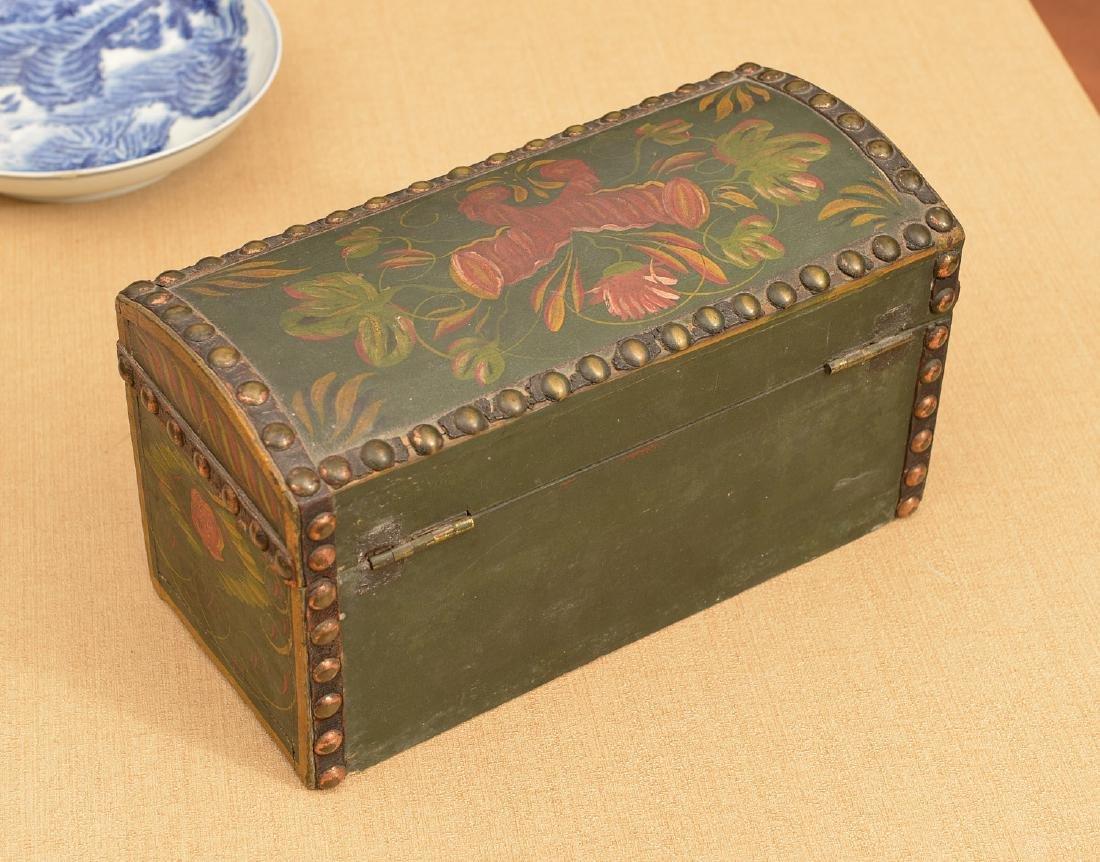 Pennsylvania Dutch style dome top box - 3