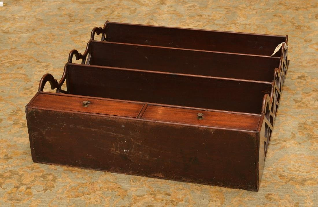 Regency style hanging shelf with drawers - 7