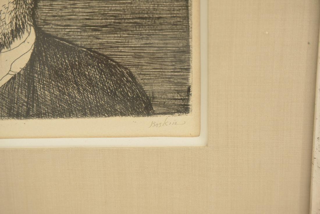 Leonard Baskin, (2) etchings - 5