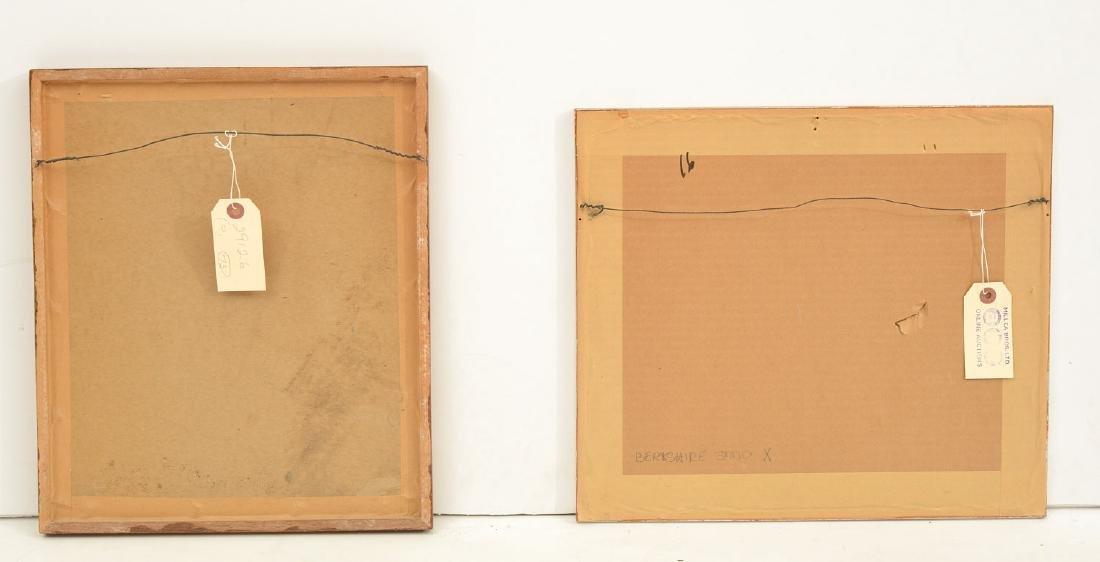 Leonard Baskin, (2) etchings - 8