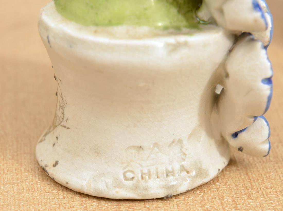Set (8) Chinese glazed porcelain Immortals - 9