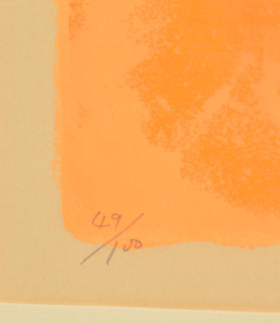 Nobu Fukui, color lithograph - 2