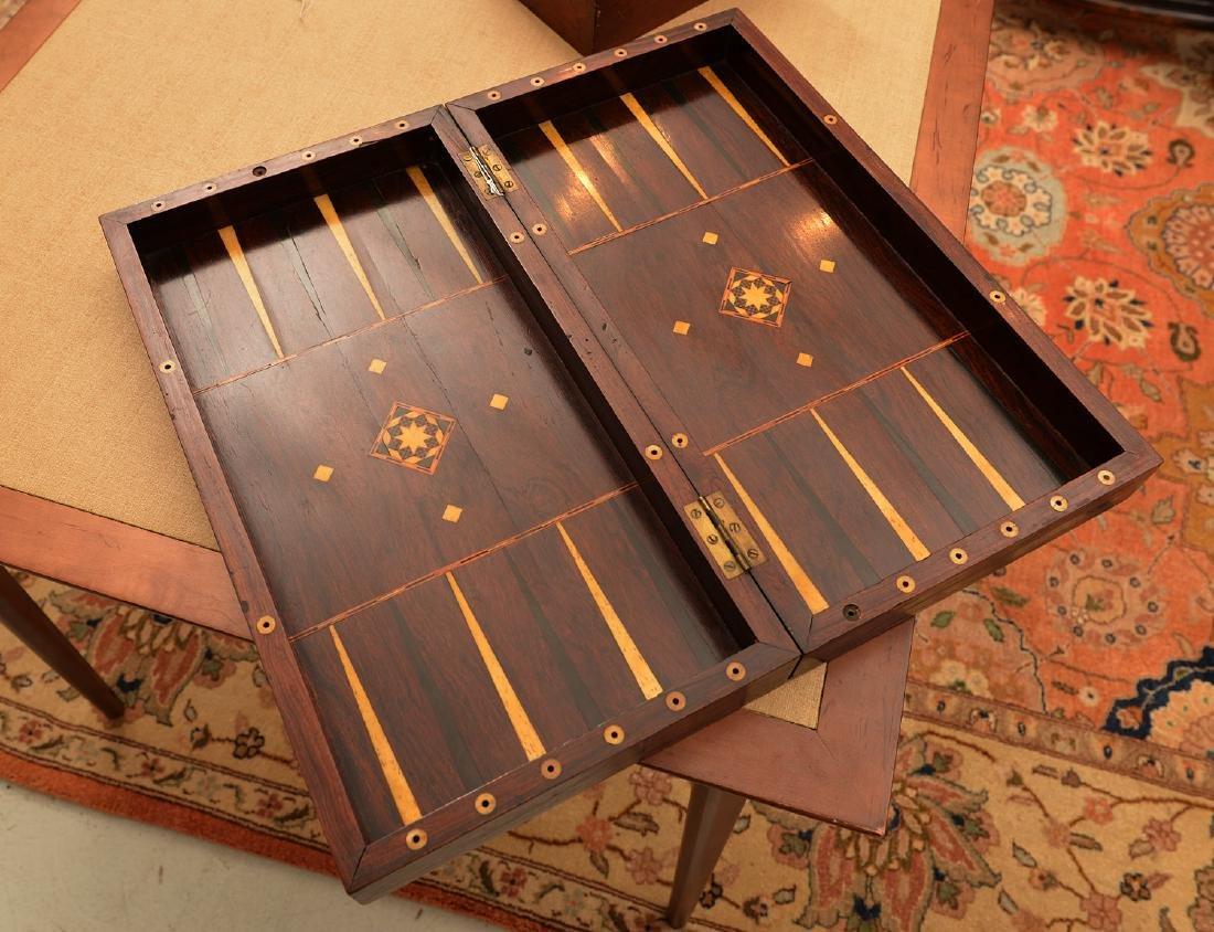 Staunton style chess set and Syrian case - 9