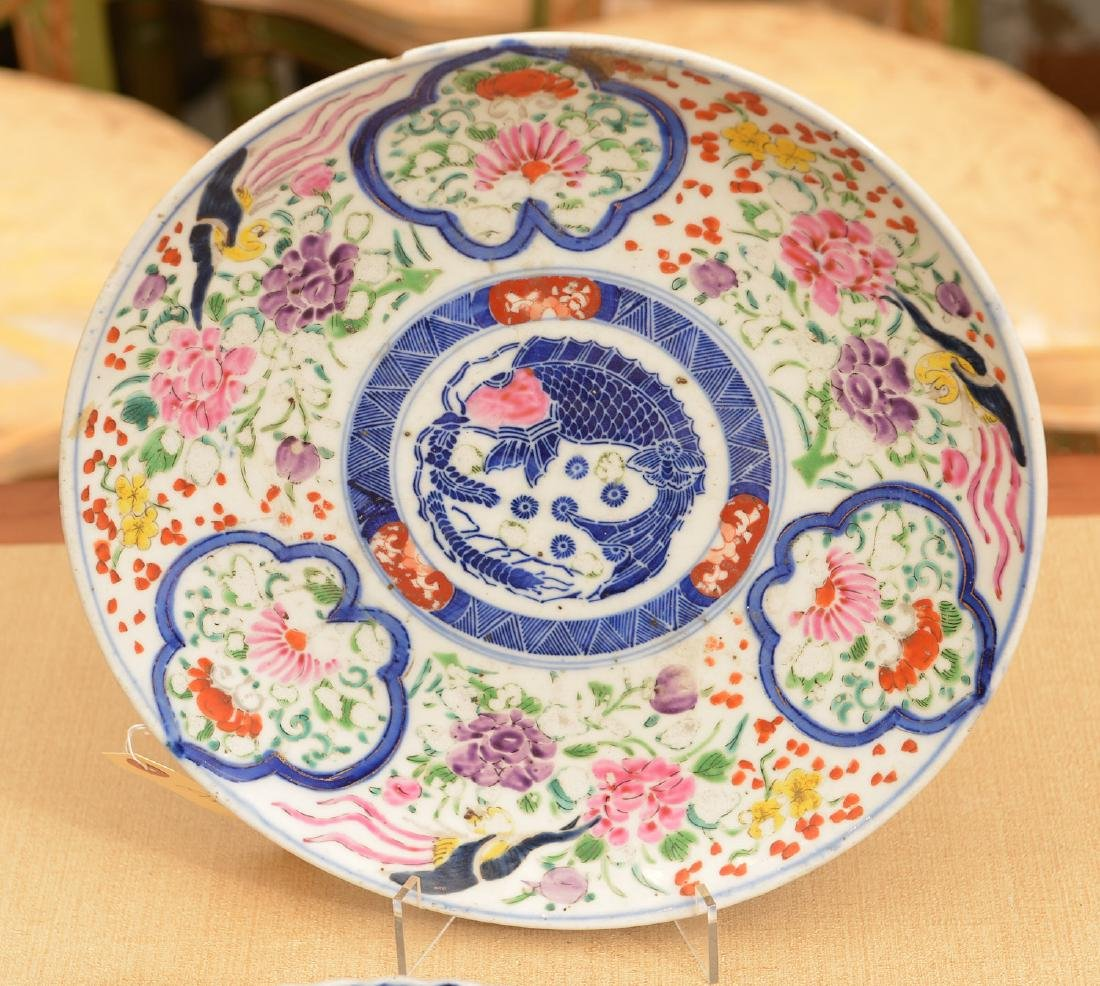 (2) Japanese porcelain dishes - 2