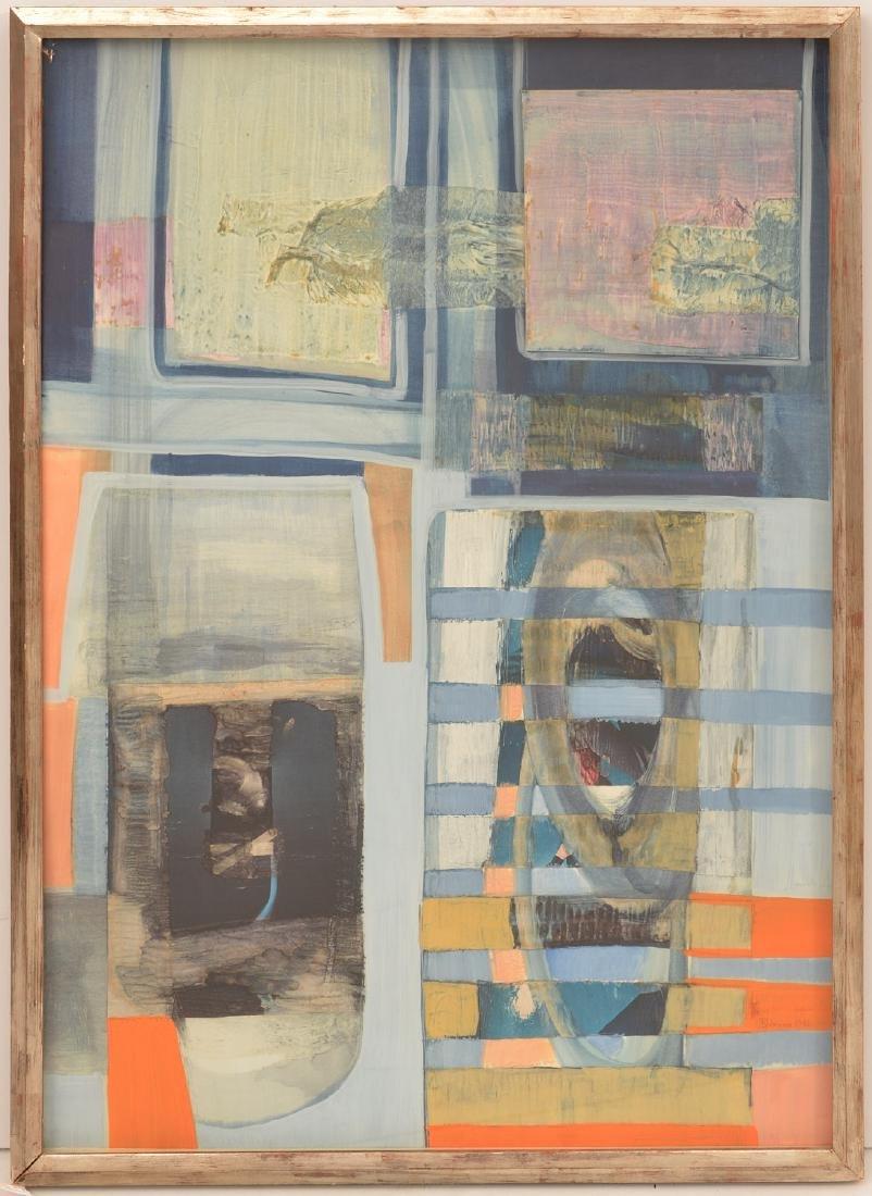 T. Delenoiere, collage