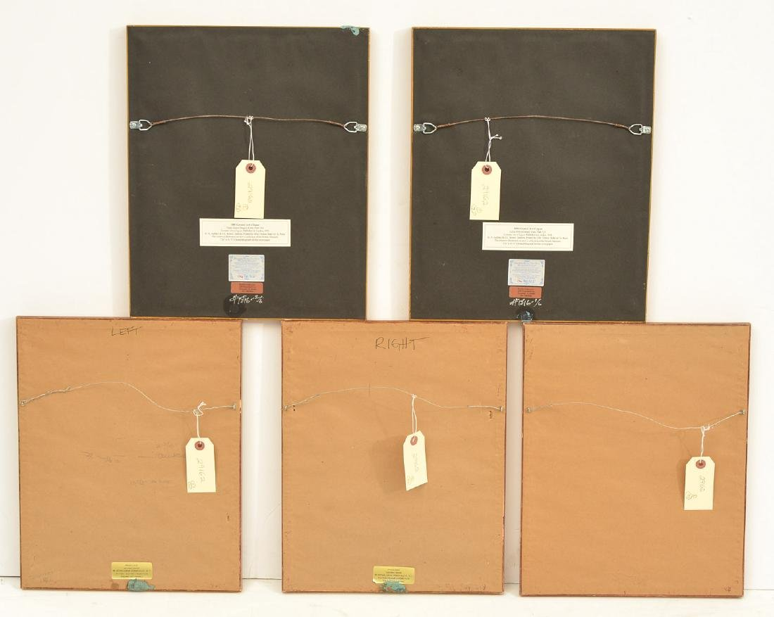 (2) sets Interior Design prints - 9