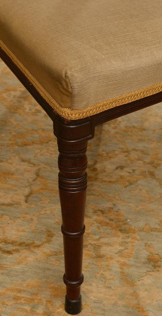 Set (6) American Classical mahogany dining chairs - 2