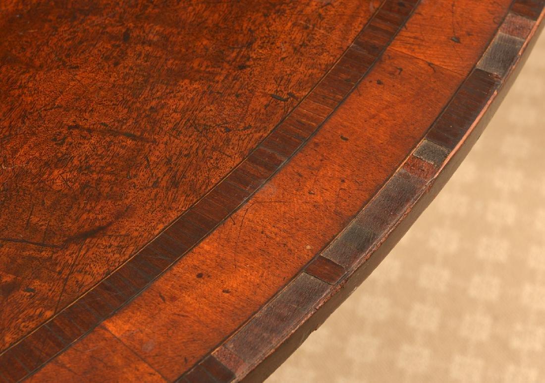 Regency banded mahogany breakfast table - 3