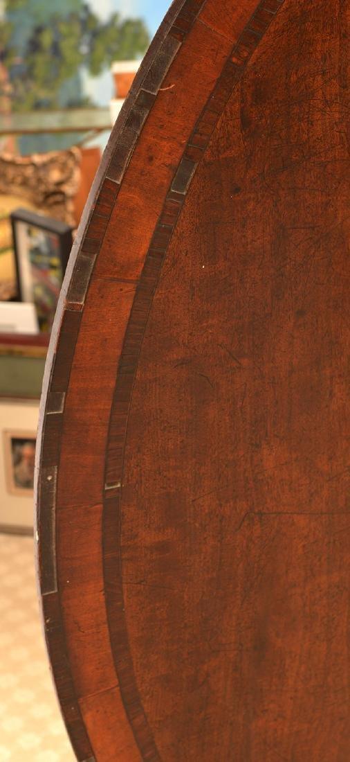 Regency banded mahogany breakfast table - 5