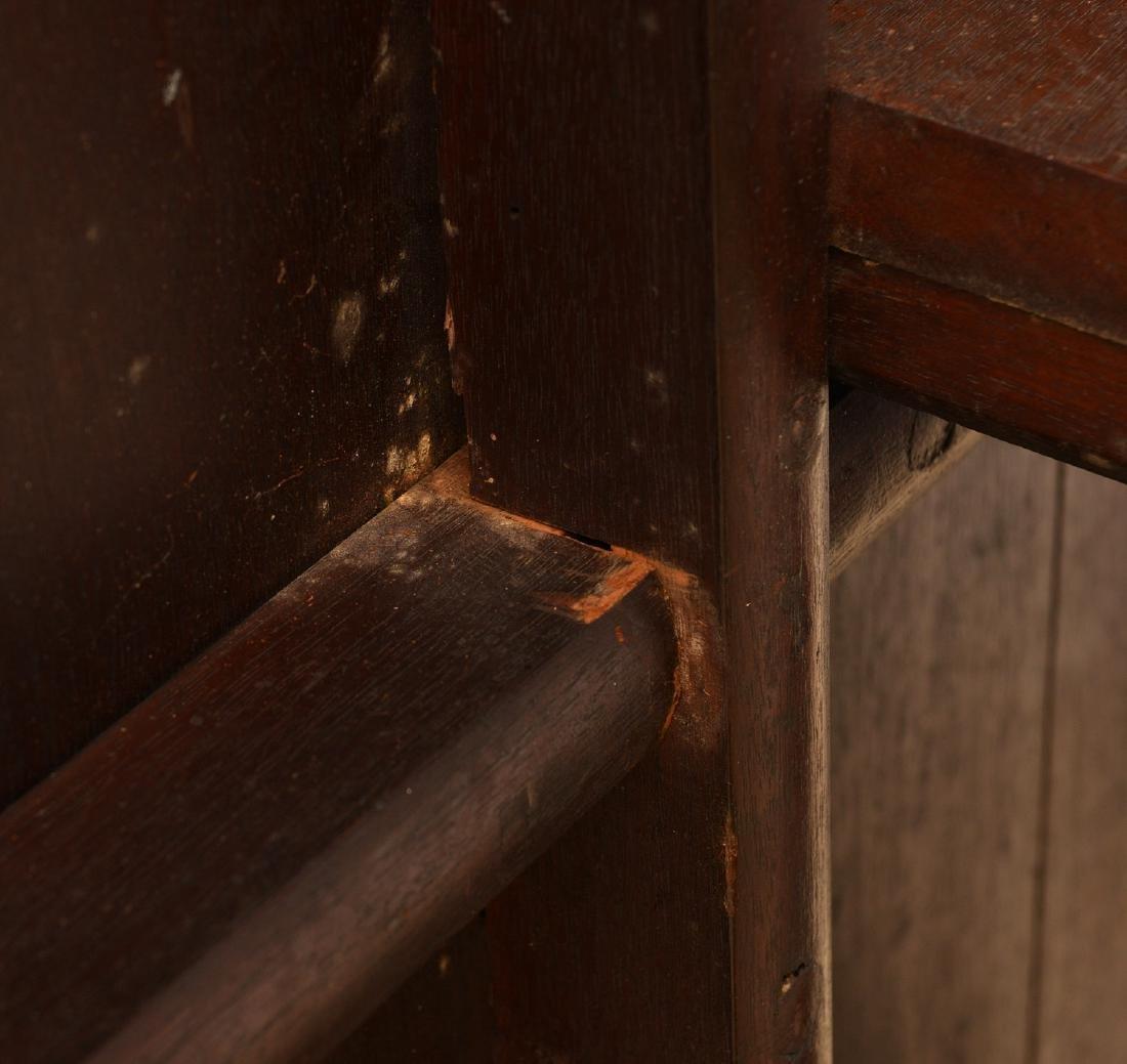 Regency banded mahogany breakfast table - 6