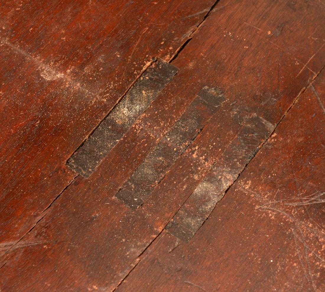 Regency banded mahogany breakfast table - 8